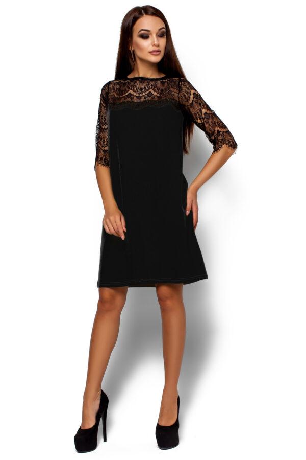Платье  Ангола Черный Karree