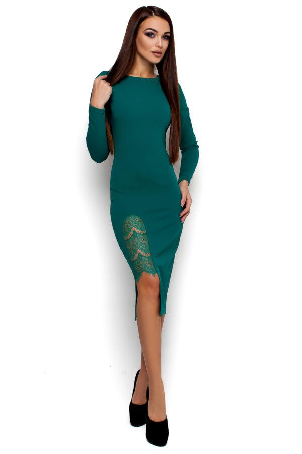 Платье Коктейль Бирюза Karree