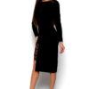 Платье Коктейль Черный Karree