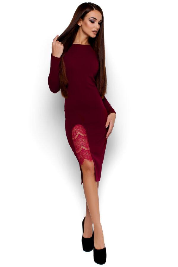 Платье Коктейль Марсала Karree