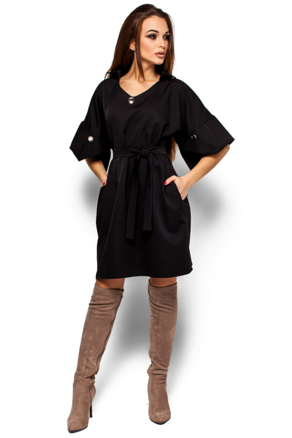 Платье Валери Черный Karree