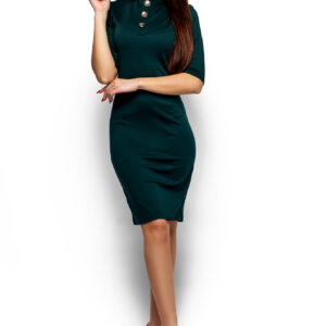 Платье Бенни Темно-зеленый Karree купить Платье