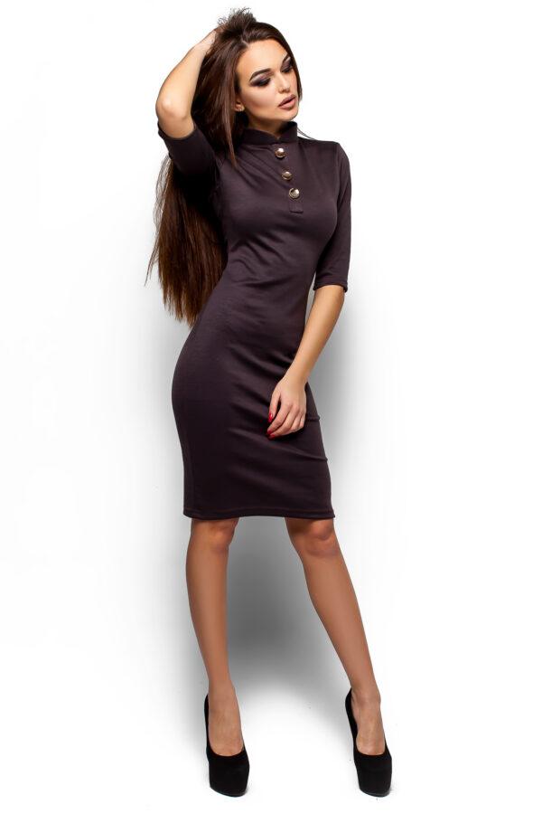 Платье Бенни Шоколадный Karree