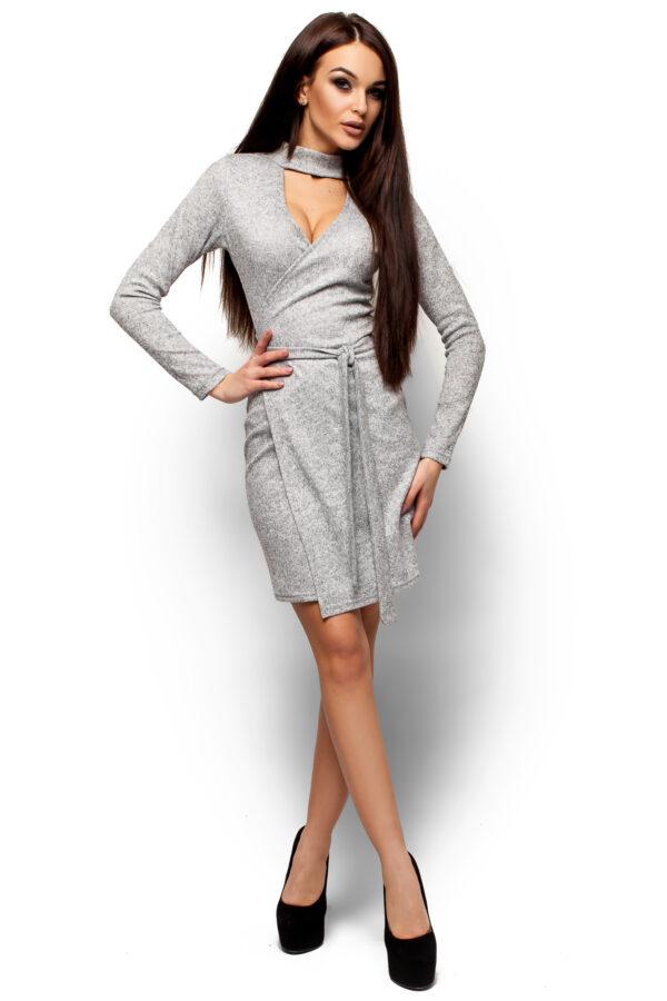 Платье Кари Серый Karree