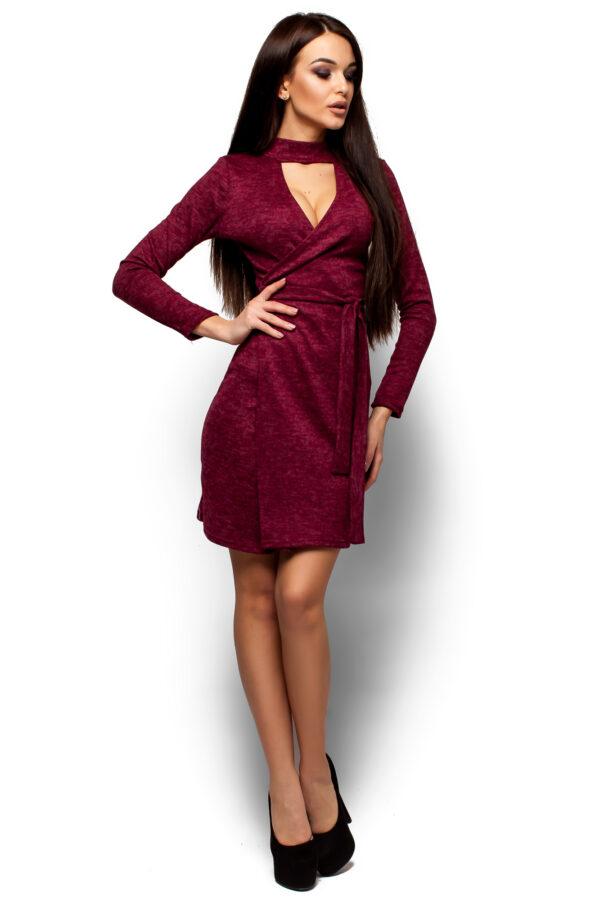 Платье Кари Марсала Karree
