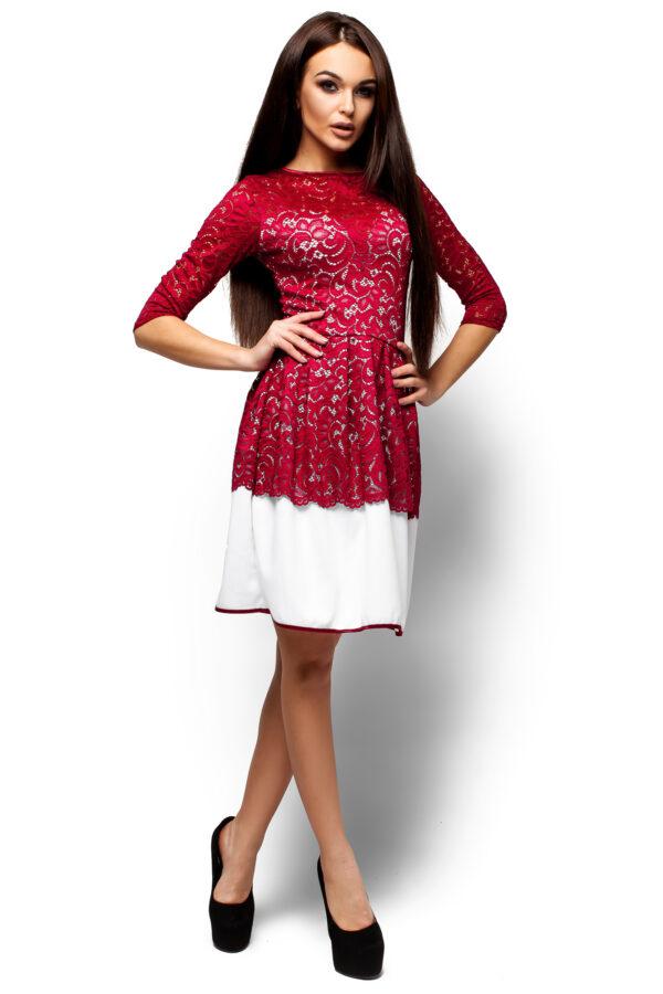 Платье Закария Марсала Karree