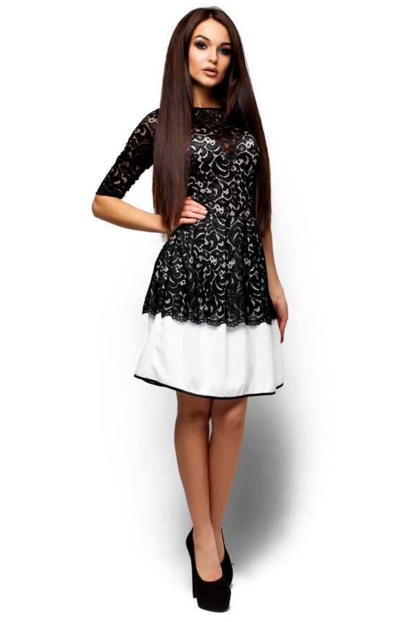 Платье Закария Черный Karree