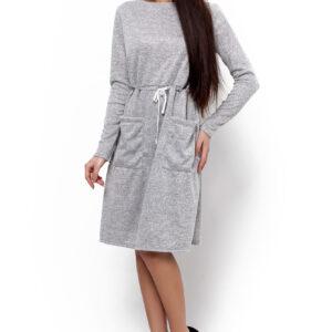 Платье Далия Серый Karree купить Платье