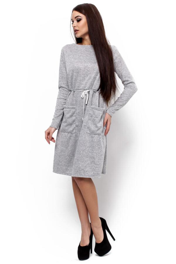 Платье Далия Серый Karree