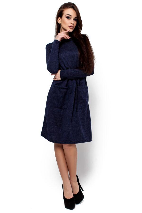 Платье Далия Темно-синий Karree