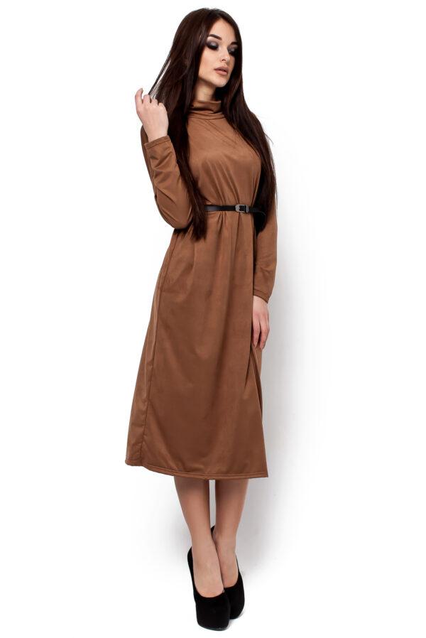 Платье Клементина Темно-бежевый Karree