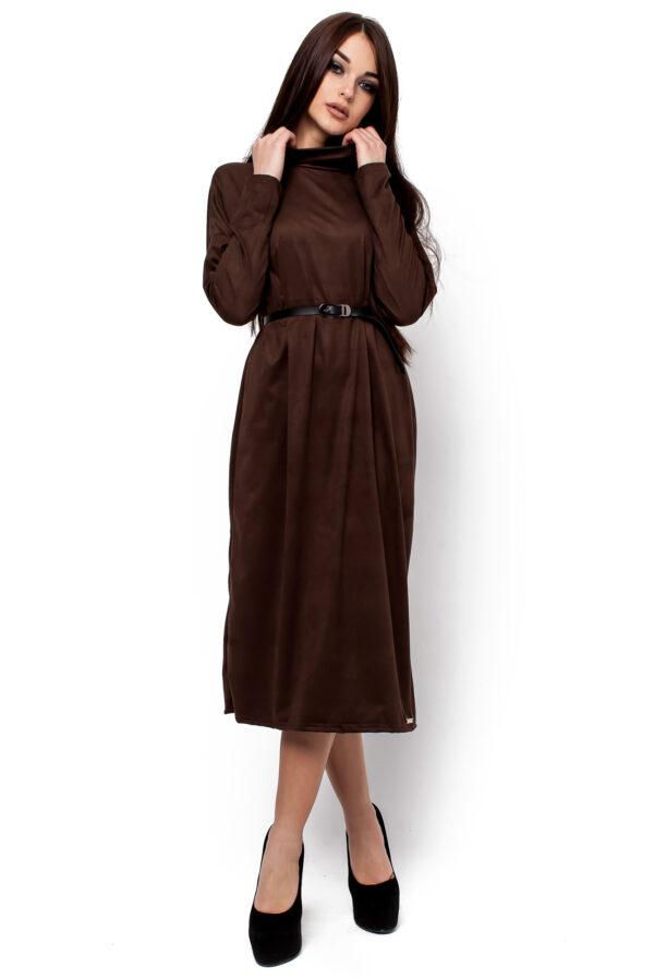 Платье Клементина Шоколадный Karree