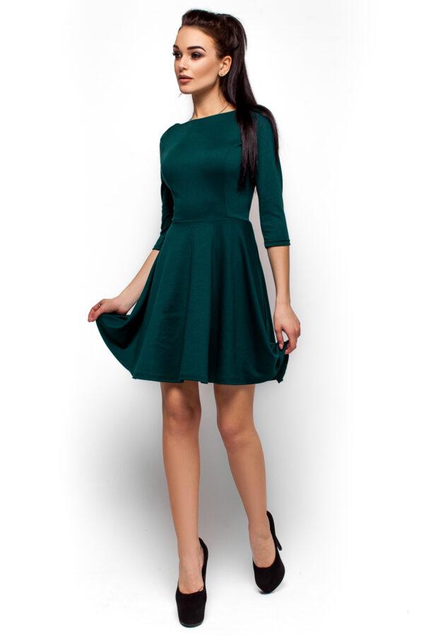 Платье Дания Темно-зеленый Karree