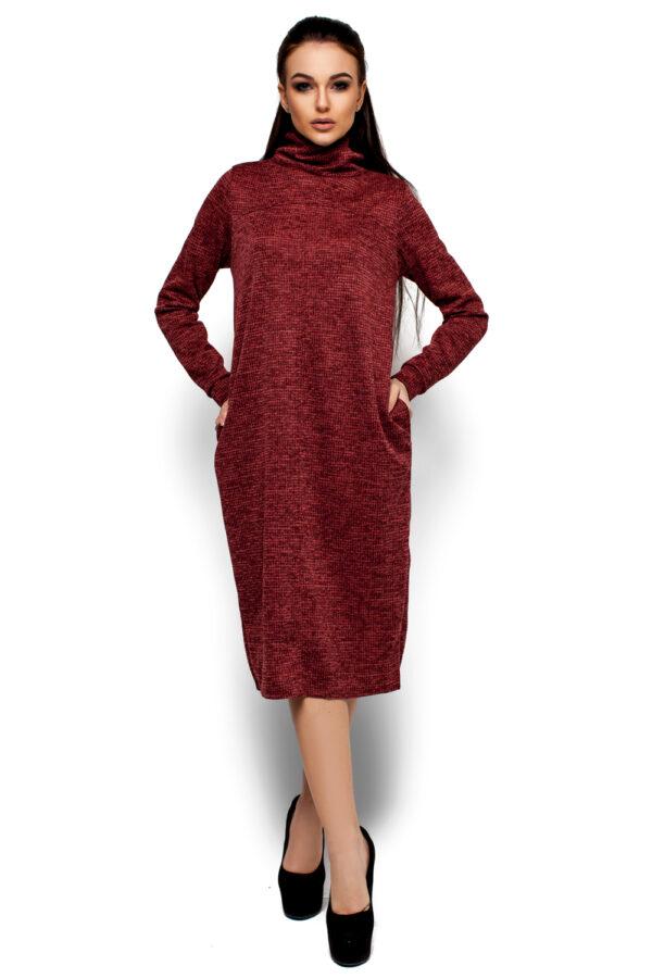 Платье Меган Рыжий Karree