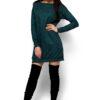Платье Ферги Темно-зеленый Karree