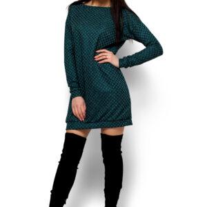 Платье Ферги Темно-зеленый Karree купить Платье
