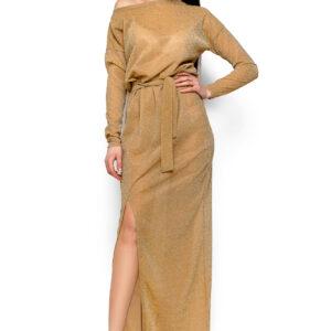 Платье Айза Золото Karree купить Вечернее платье