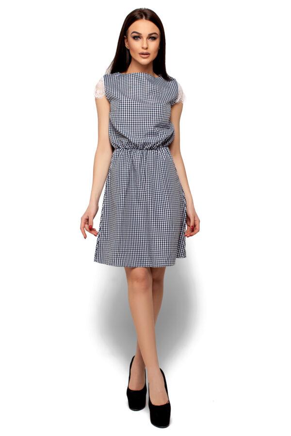 Платье Эльза Черный Karree
