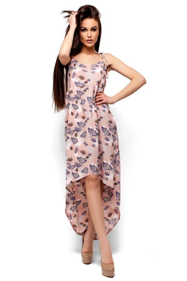 Платье Танзания Пудровый Karree