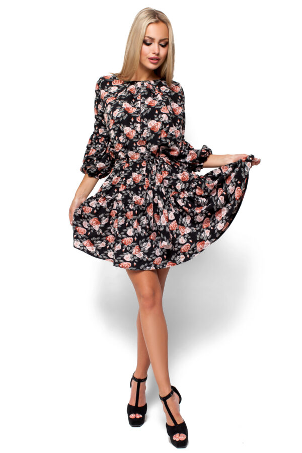 Платье Катрин Черный Karree
