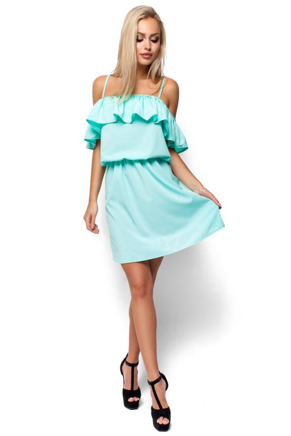 Платье Дина Ментоловый Karree