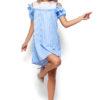 Платье Киви Голубой Karree