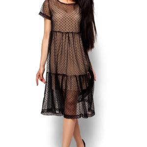 Платье Джина Черный Karree купить Вечернее платье