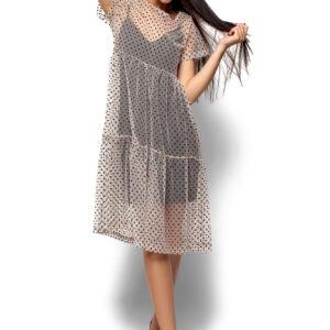 Платье Джина Бежевый Karree купить Вечернее платье