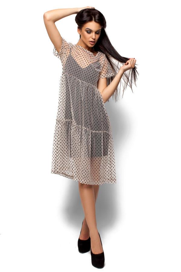Платье Джина Бежевый Karree