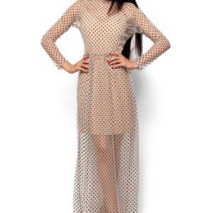Платье Маниша Бежевый Karree купить Вечернее платье