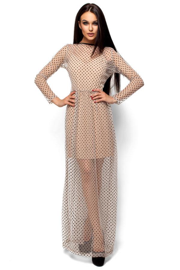 Платье Маниша Бежевый Karree