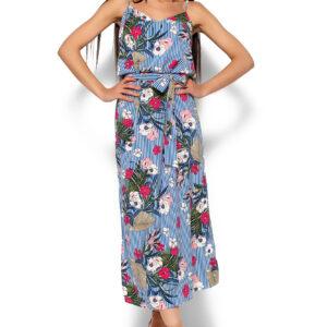 Платье Мари Синий Karree купить Платье