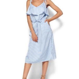 Платье Бохо Голубой Karree купить Платье