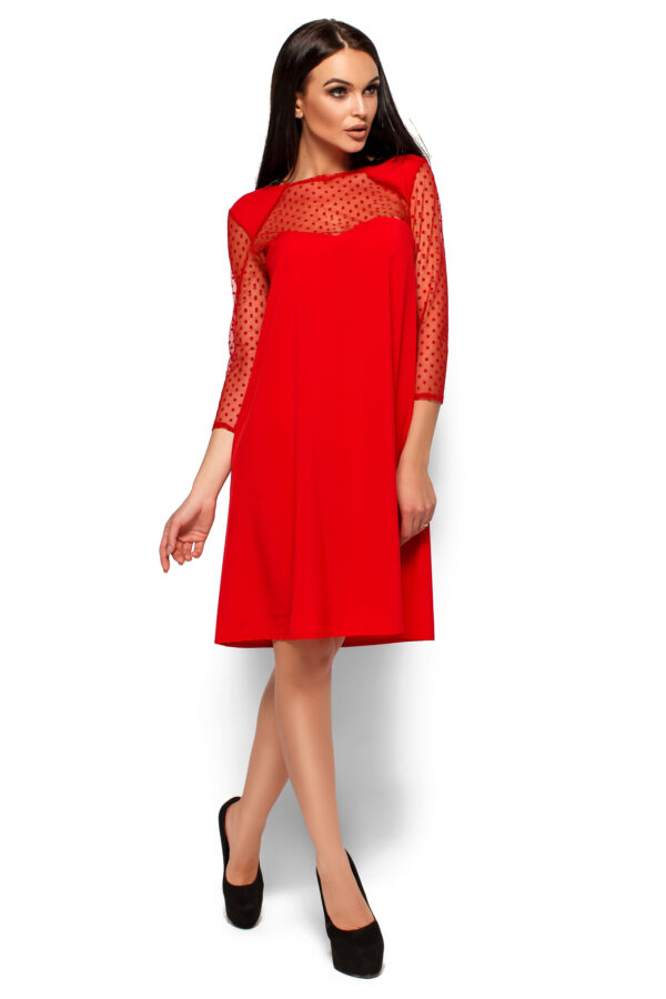 Платье Рина Красный Karree