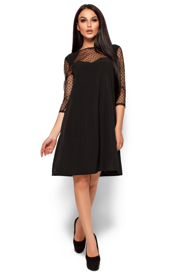 Платье Рина Черный Karree