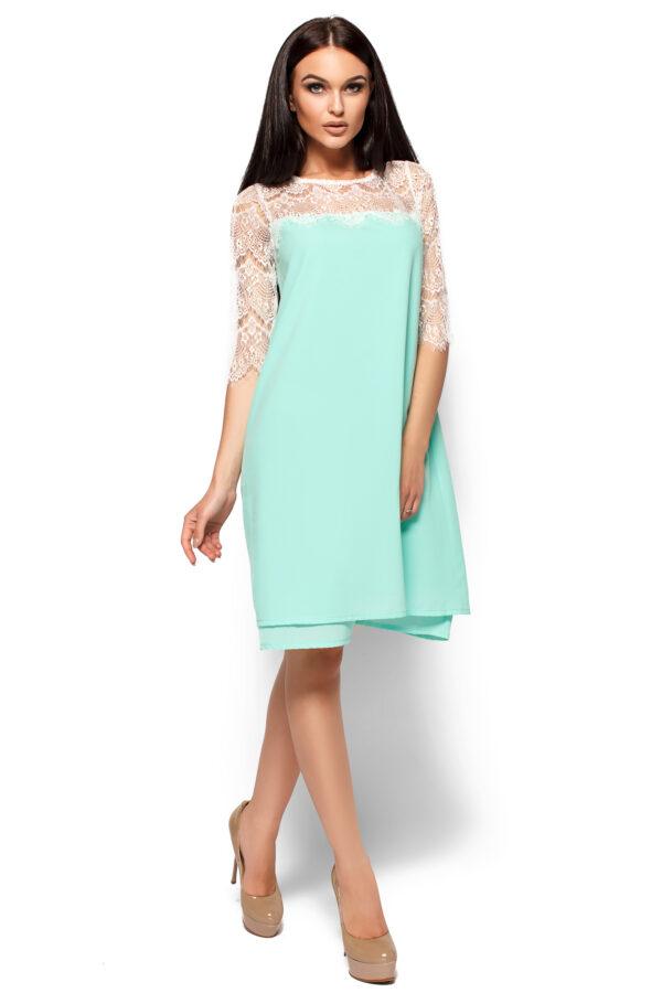 Платье Натти Ментоловый Karree