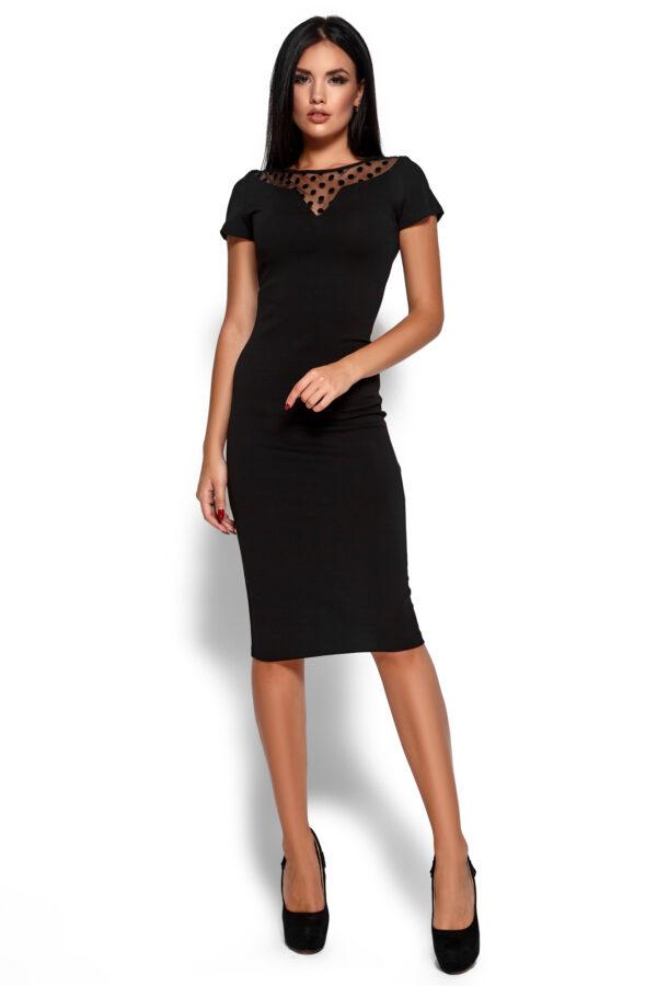 Платье Валия Черный Karree