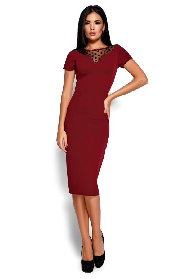 Платье Валия Марсала Karree