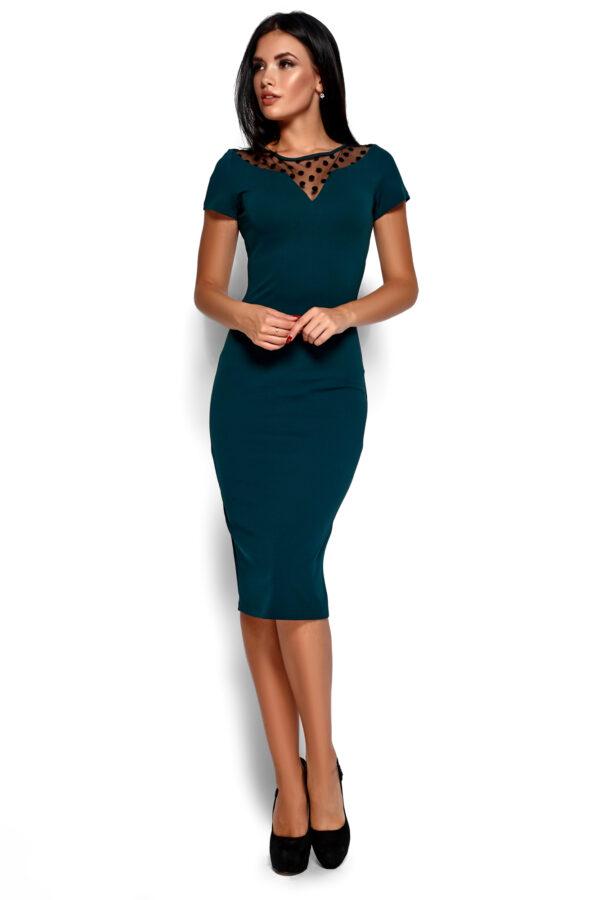 Платье Валия Темно-зеленый Karree