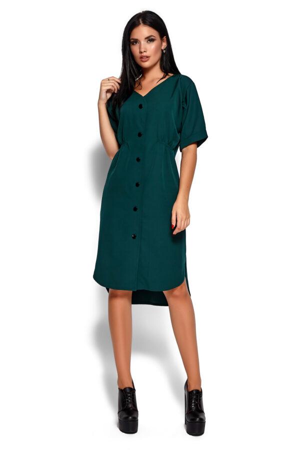Платье Джазелин Темно-зеленый Karree