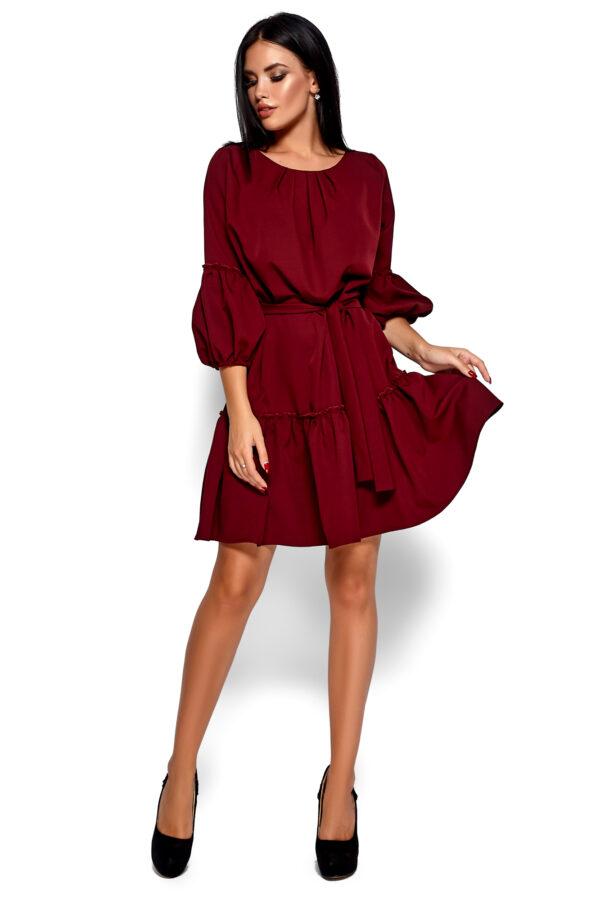 Платье Полина Марсала Karree
