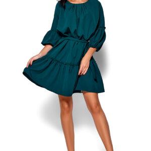 Платье Полина Темно-зеленый Karree купить Платье