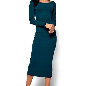 Платье Рамина Темно-зеленый Karree купить Платье