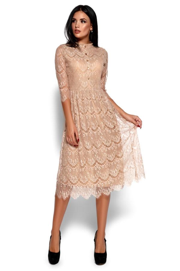 Платье Шанти Бежевый Karree