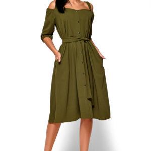 Платье Летиция Хаки Karree купить Платье