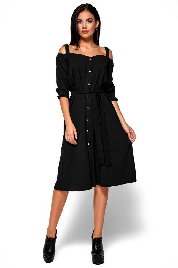 Платье Летиция Черный Karree
