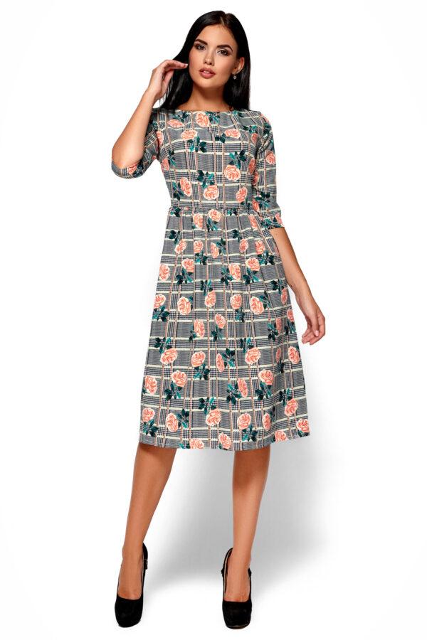 Платье Эмилия Черный Karree