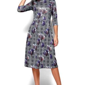 Платье Амелла Синий Karree купить Платье