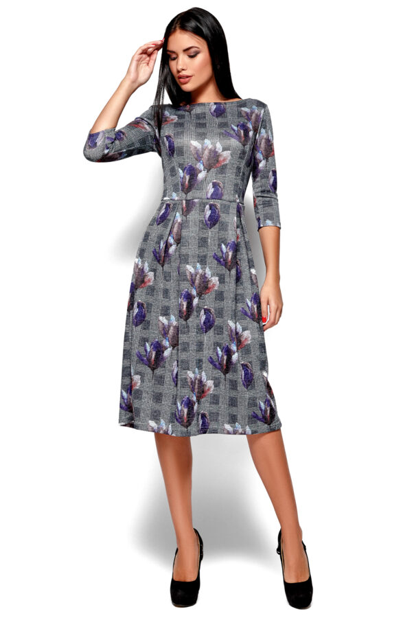 Платье Амелла Синий Karree