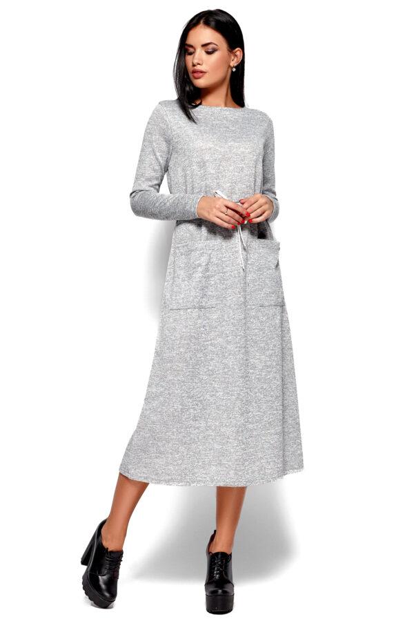 Платье Николетта Серый Karree